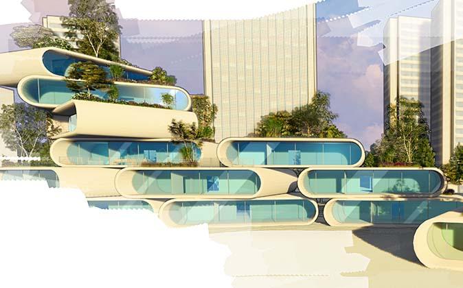visualisatie 3D Dirk Luijendijk
